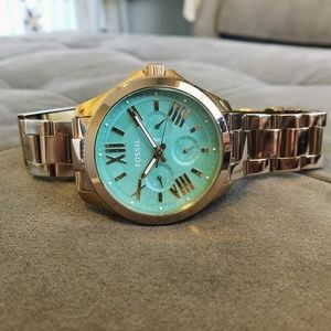 Fossil Cecile Watch Rose Gold Mint